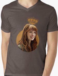 Charlie Bradbury Mens V-Neck T-Shirt