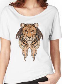 Tribal Cheetah Women's Relaxed Fit T-Shirt