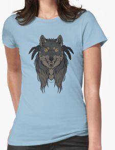 Tribal Werewolf Womens Fitted T-Shirt