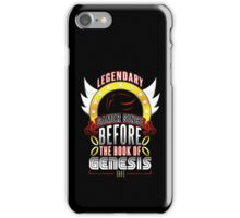 LEGENDARY GAMER (SHADOW V2) iPhone Case/Skin