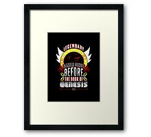 LEGENDARY GAMER (SHADOW V2) Framed Print