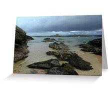 The beach at Talmine Greeting Card