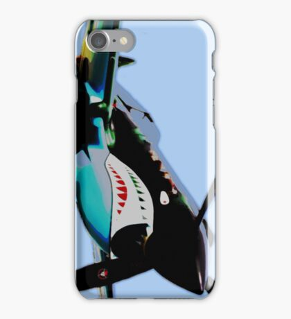 "P-40 ""Flying Tigers"" Pop iPhone Case/Skin"