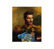 Don Iker Casillas Art Print