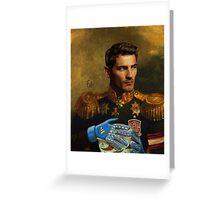 Don Iker Casillas Greeting Card