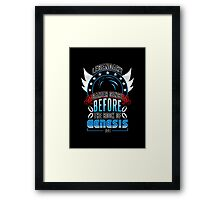 LEGENDARY GAMER (SONIC V1) Framed Print