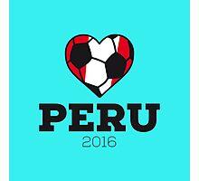 Peru Soccer Shirt 2016 Photographic Print