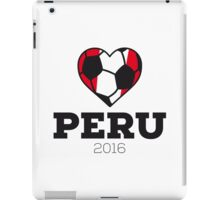 Peru Soccer Shirt 2016 iPad Case/Skin