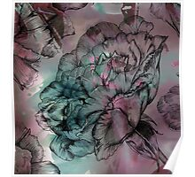 Peony Ink Poster