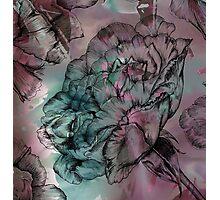 Peony Ink Photographic Print