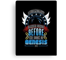 LEGENDARY GAMER (SONIC V2) Canvas Print