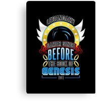 LEGENDARY GAMER (SONIC V3) Canvas Print
