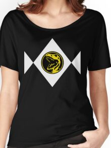 Mighty Morphin Power Rangers Red Ranger 2 Women's Relaxed Fit T-Shirt
