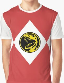 Mighty Morphin Power Rangers Red Ranger 2 Graphic T-Shirt