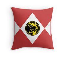 Mighty Morphin Power Rangers Red Ranger 2 Throw Pillow