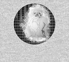 girl & skeleton patterns V Unisex T-Shirt