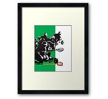 QVHK Villiers Framed Print