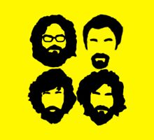 Bearded Nerds - Throw Pillow by JohnLucke