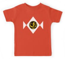 Mighty Morphin Power Rangers Black Ranger 2 Kids Tee