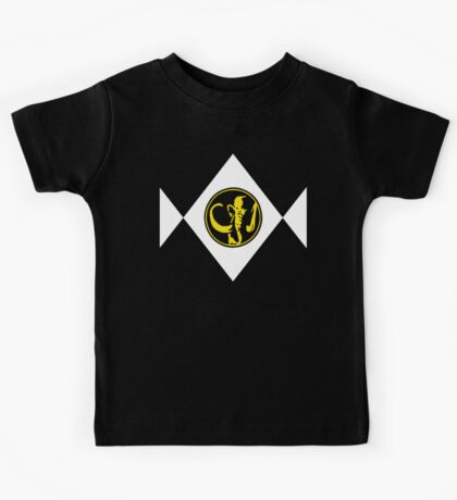 Mighty Morphin Power Rangers Black Ranger 2 Kids Tee