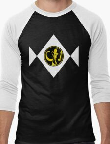 Mighty Morphin Power Rangers Black Ranger 2 Men's Baseball ¾ T-Shirt