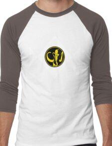 Mighty Morphin Power Rangers Black Ranger 2 Men's Baseball ¾ T-Shirt