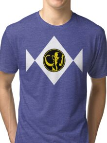 Mighty Morphin Power Rangers Black Ranger 2 Tri-blend T-Shirt