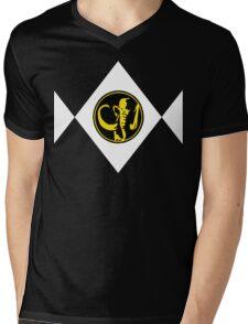 Mighty Morphin Power Rangers Black Ranger 2 Mens V-Neck T-Shirt