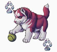 Husky Puppy Kids Tee