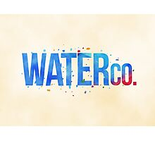water co. Photographic Print