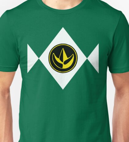 Mighty Morphin Power Rangers Green Ranger 2 Unisex T-Shirt
