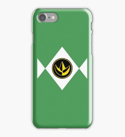 Mighty Morphin Power Rangers Green Ranger 2 iPhone Case/Skin