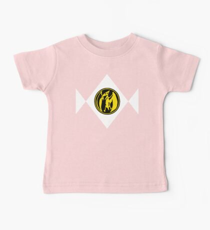 Mighty Morphin Power Rangers Pink Ranger 2 Baby Tee