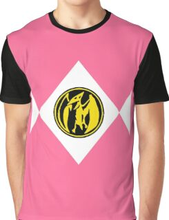 Mighty Morphin Power Rangers Pink Ranger 2 Graphic T-Shirt
