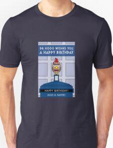 DOCTOR WHO MATT SMITH OWL CARD (NO NAME) Unisex T-Shirt