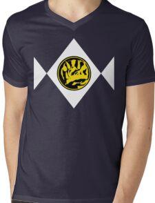 Mighty Morphin Power Rangers Blue Ranger 2 Mens V-Neck T-Shirt