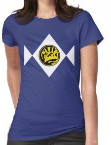 Mighty Morphin Power Rangers Blue Ranger 2 Womens Fitted T-Shirt