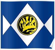 Mighty Morphin Power Rangers Blue Ranger 2 Poster