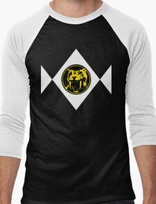 Mighty Morphin Power Rangers Yellow Ranger 2 Men's Baseball ¾ T-Shirt