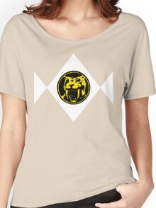 Mighty Morphin Power Rangers Yellow Ranger 2 Women's Relaxed Fit T-Shirt
