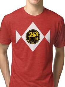 Mighty Morphin Power Rangers Yellow Ranger 2 Tri-blend T-Shirt