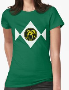 Mighty Morphin Power Rangers Yellow Ranger 2 Womens Fitted T-Shirt