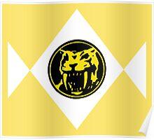 Mighty Morphin Power Rangers Yellow Ranger 2 Poster