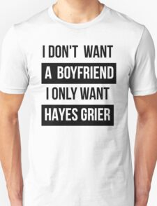 HAYES GRIER MAGCON  T-Shirt