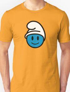 Smurf Smiley Unisex T-Shirt