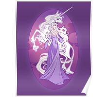 The Last Unicorn in the World Poster