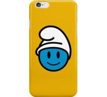 Smurf Smiley iPhone Case/Skin