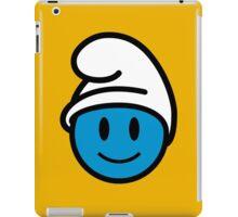 Smurf Smiley iPad Case/Skin