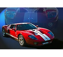 Ford GT40 Photographic Print