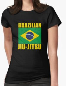 Brazilian Jiu-Jitsu (BJJ) Womens Fitted T-Shirt